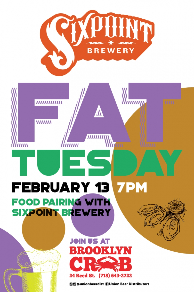 Sixpoint Fat Tuesday | Union Beer Distributors