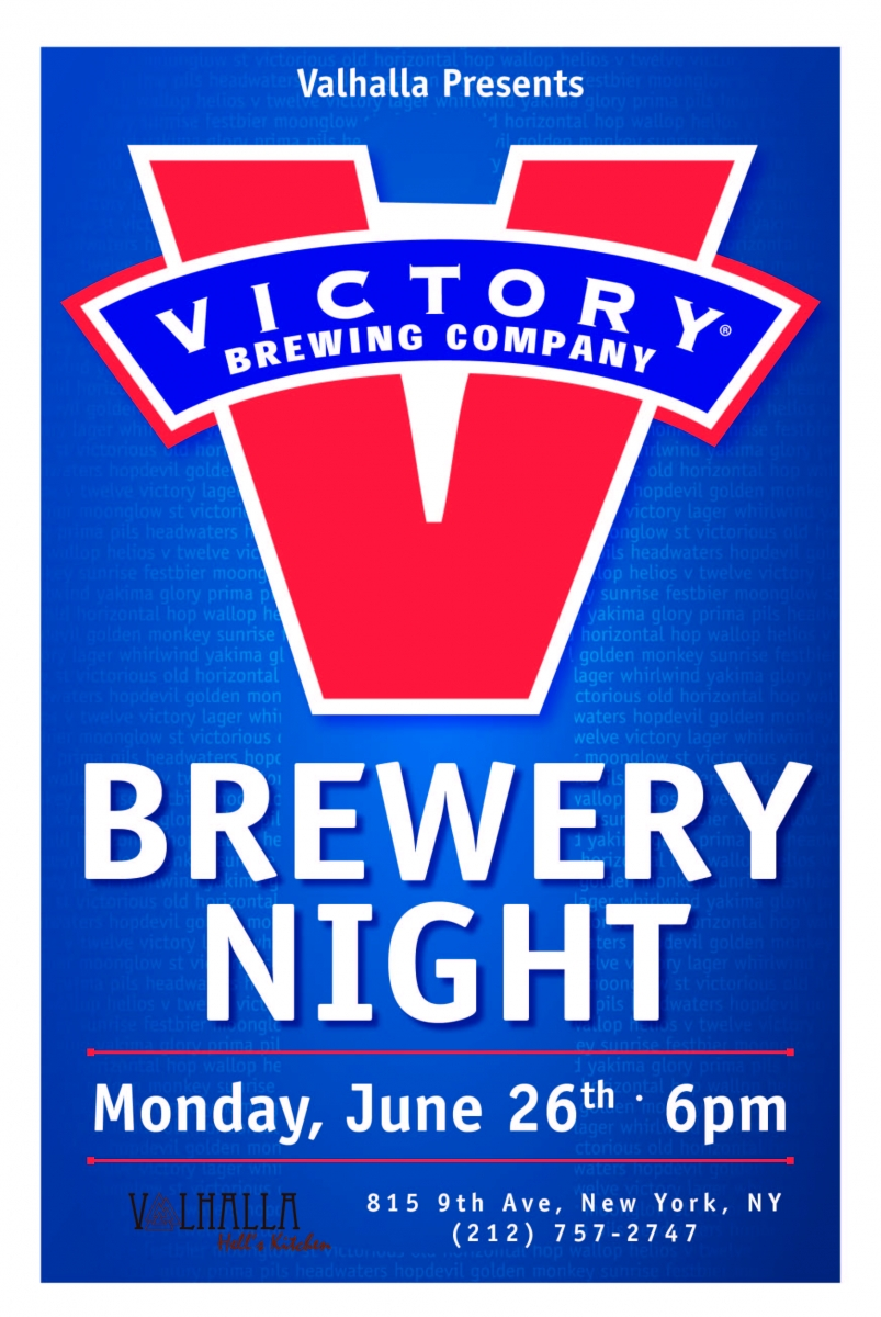 Victory Brewery Night Union Beer Distributors